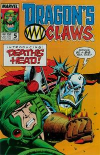 Cover Thumbnail for Dragon's Claws (Marvel, 1988 series) #5