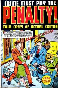 Cover Thumbnail for Crime Must Pay the Penalty (Ace Magazines, 1948 series) #33 [1]