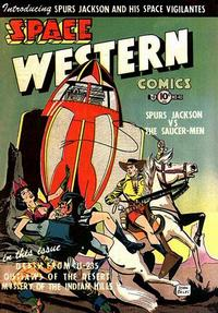Cover Thumbnail for Space Western (Charlton, 1952 series) #40
