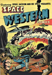 Cover Thumbnail for Space Western (Charlton, 1952 series) #42
