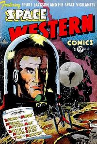 Cover Thumbnail for Space Western (Charlton, 1952 series) #43