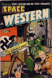 Cover Thumbnail for Space Western (Charlton, 1952 series) #44