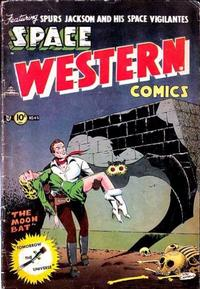 Cover Thumbnail for Space Western (Charlton, 1952 series) #45