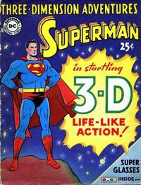 Cover Thumbnail for Three-Dimension Adventures Superman (DC, 1953 series) #[nn]