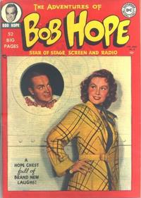 Cover Thumbnail for The Adventures of Bob Hope (DC, 1950 series) #2
