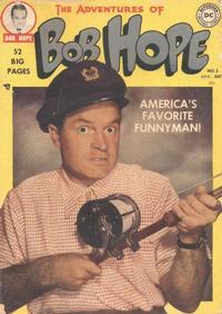 Cover Thumbnail for The Adventures of Bob Hope (DC, 1950 series) #3