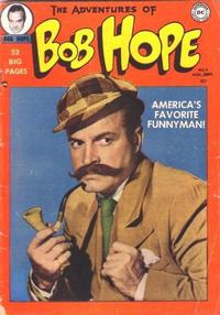Cover Thumbnail for The Adventures of Bob Hope (DC, 1950 series) #4