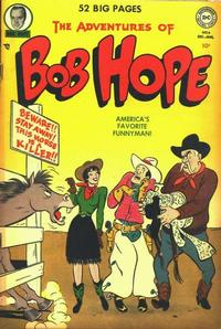 Cover Thumbnail for The Adventures of Bob Hope (DC, 1950 series) #6