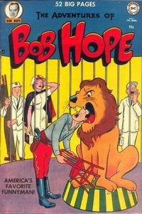 Cover Thumbnail for The Adventures of Bob Hope (DC, 1950 series) #7