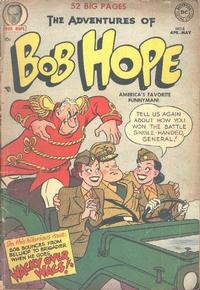 Cover Thumbnail for The Adventures of Bob Hope (DC, 1950 series) #8