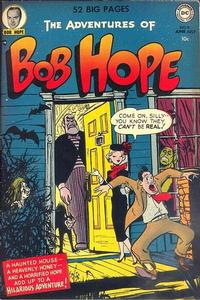 Cover Thumbnail for The Adventures of Bob Hope (DC, 1950 series) #9
