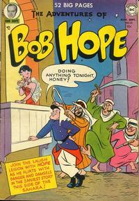 Cover Thumbnail for The Adventures of Bob Hope (DC, 1950 series) #10