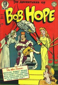 Cover Thumbnail for The Adventures of Bob Hope (DC, 1950 series) #11