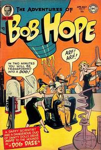 Cover Thumbnail for The Adventures of Bob Hope (DC, 1950 series) #14