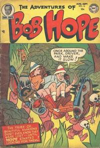 Cover Thumbnail for The Adventures of Bob Hope (DC, 1950 series) #16