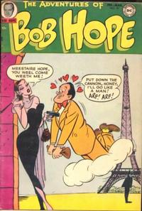 Cover Thumbnail for The Adventures of Bob Hope (DC, 1950 series) #19