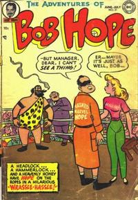 Cover Thumbnail for The Adventures of Bob Hope (DC, 1950 series) #21