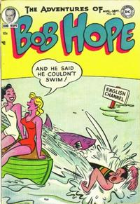 Cover Thumbnail for The Adventures of Bob Hope (DC, 1950 series) #22