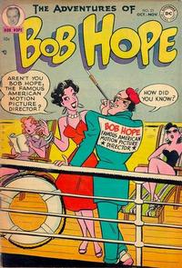 Cover Thumbnail for The Adventures of Bob Hope (DC, 1950 series) #23
