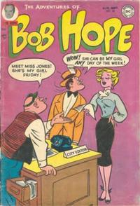 Cover Thumbnail for The Adventures of Bob Hope (DC, 1950 series) #28