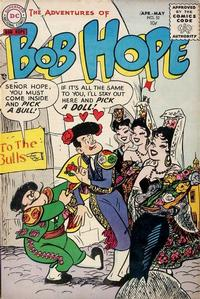 Cover Thumbnail for The Adventures of Bob Hope (DC, 1950 series) #32