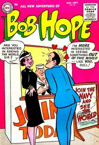 Cover Thumbnail for The Adventures of Bob Hope (DC, 1950 series) #34