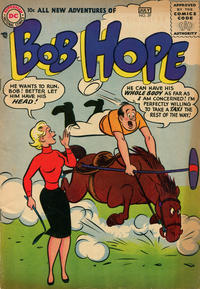Cover Thumbnail for The Adventures of Bob Hope (DC, 1950 series) #39