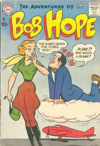 Cover Thumbnail for The Adventures of Bob Hope (DC, 1950 series) #44