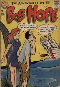 Cover Thumbnail for The Adventures of Bob Hope (DC, 1950 series) #45