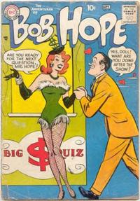 Cover for The Adventures of Bob Hope (DC, 1950 series) #52
