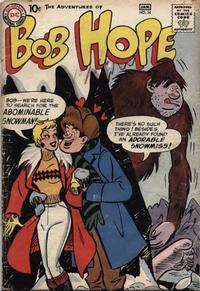 Cover Thumbnail for The Adventures of Bob Hope (DC, 1950 series) #54