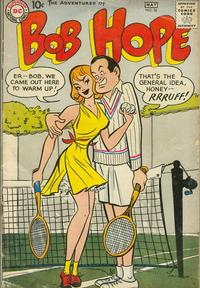 Cover Thumbnail for The Adventures of Bob Hope (DC, 1950 series) #56