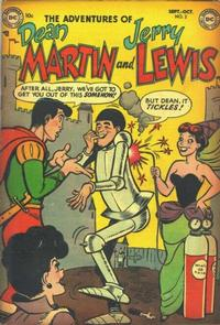 Cover Thumbnail for The Adventures of Dean Martin & Jerry Lewis (DC, 1952 series) #2