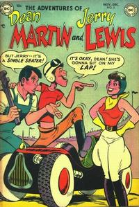 Cover Thumbnail for The Adventures of Dean Martin & Jerry Lewis (DC, 1952 series) #3