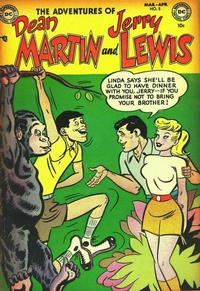 Cover Thumbnail for The Adventures of Dean Martin & Jerry Lewis (DC, 1952 series) #5