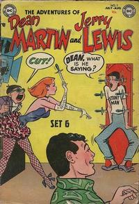 Cover Thumbnail for The Adventures of Dean Martin & Jerry Lewis (DC, 1952 series) #7