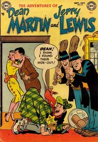Cover Thumbnail for The Adventures of Dean Martin & Jerry Lewis (DC, 1952 series) #8
