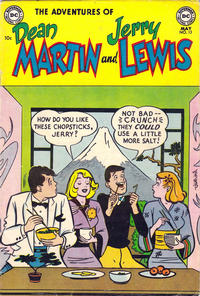 Cover Thumbnail for The Adventures of Dean Martin & Jerry Lewis (DC, 1952 series) #13