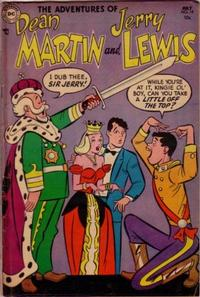 Cover Thumbnail for The Adventures of Dean Martin & Jerry Lewis (DC, 1952 series) #14