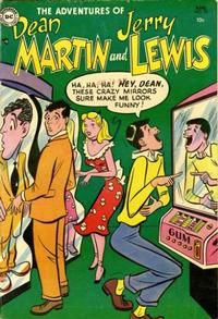 Cover Thumbnail for The Adventures of Dean Martin & Jerry Lewis (DC, 1952 series) #15