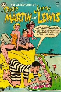 Cover Thumbnail for The Adventures of Dean Martin & Jerry Lewis (DC, 1952 series) #16
