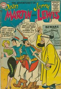 Cover for The Adventures of Dean Martin & Jerry Lewis (DC, 1952 series) #20