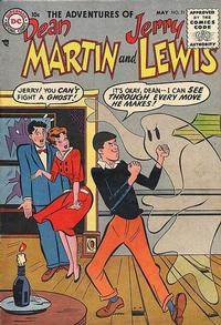 Cover Thumbnail for The Adventures of Dean Martin & Jerry Lewis (DC, 1952 series) #21