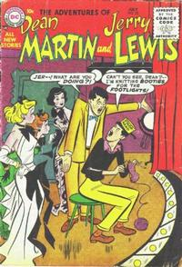 Cover Thumbnail for The Adventures of Dean Martin & Jerry Lewis (DC, 1952 series) #22