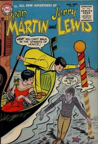 Cover Thumbnail for The Adventures of Dean Martin & Jerry Lewis (DC, 1952 series) #23