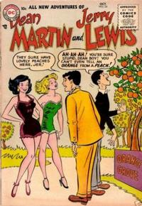 Cover Thumbnail for The Adventures of Dean Martin & Jerry Lewis (DC, 1952 series) #24