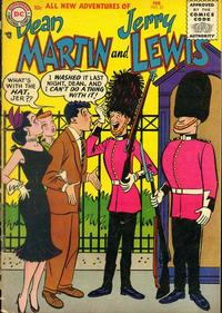 Cover Thumbnail for The Adventures of Dean Martin & Jerry Lewis (DC, 1952 series) #27
