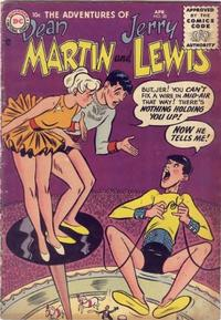 Cover Thumbnail for The Adventures of Dean Martin & Jerry Lewis (DC, 1952 series) #28