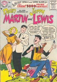 Cover Thumbnail for The Adventures of Dean Martin & Jerry Lewis (DC, 1952 series) #32