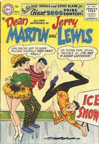 Cover Thumbnail for The Adventures of Dean Martin & Jerry Lewis (DC, 1952 series) #33